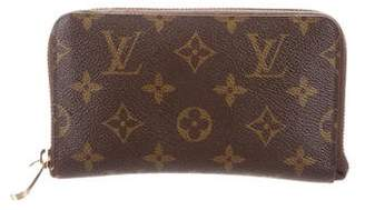 Louis Vuitton Monogram Zippy Compact Wallet