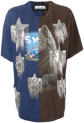 Night Market Twinstar print T-shirt