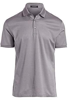 Ermenegildo Zegna Men's Cotton Polo