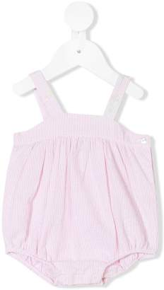 Knot striped rompers