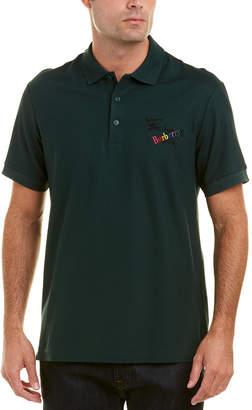 Burberry Archive Logo Pique Polo Shirt