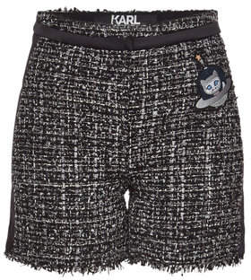 Karl Lagerfeld Space Boucle Shorts