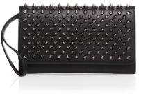 Christian Louboutin  Christian Louboutin Macaron Studded Leather Wallet