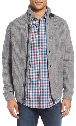 Men's Rodd & Gunn 'Eldson' Zip & Button Cardigan $248 thestylecure.com