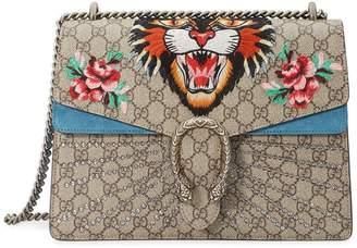96eb44cc73b9b1 Gucci Tiger Dionysus embroidered shoulder bag