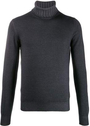 Tagliatore ribbed turtle neck sweater