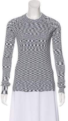 Veronica Beard Knit Long Sleeve Top
