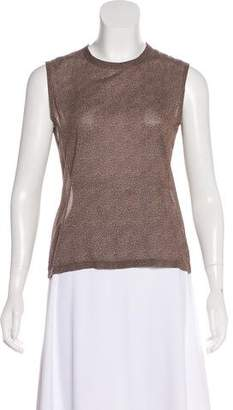 Calvin Klein Collection Silk Sleeveless Top
