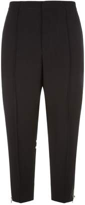 Alexander McQueen Zip Detail Stripe Trousers