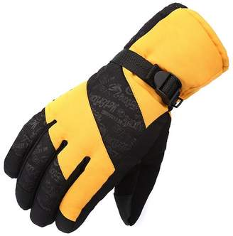 tueselesoleil Winter Men's Gloves Thick Windproof Riding Gloves Men's Mittens