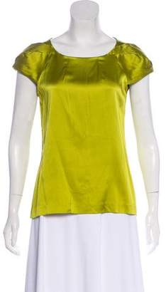 Theory Lowther Silk Blouse