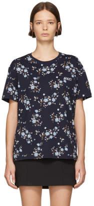 Kenzo Blue Oversized T-Shirt