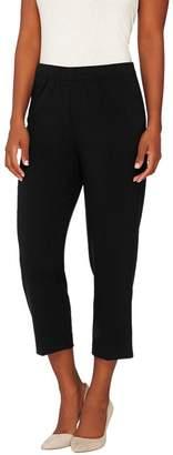 Susan Graver Chelsea Stretch Comfort Waist Crop Pants