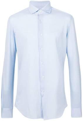 Xacus cutaway collar shirt