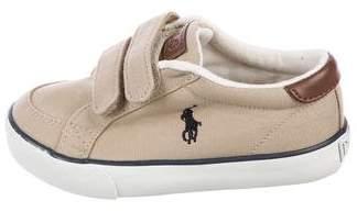 Polo Ralph Lauren Boys' Round Toe Velcro Sneakers