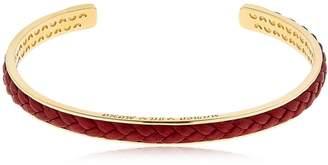 Braided Leather & Silver Bracelet