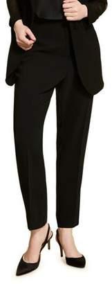 Marina Rinaldi Plus Size Satin Crepe Long Pants