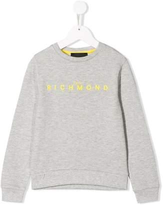 John Richmond Junior logo print sweatshirt