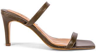 Jaggar Two Strap Wrinkled Sandal