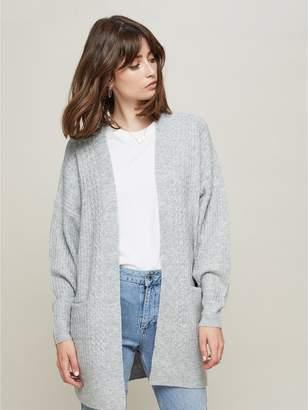 Miss Selfridge Knitted Cardigan - Grey
