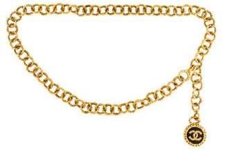 Chanel Chain Medallion Belt