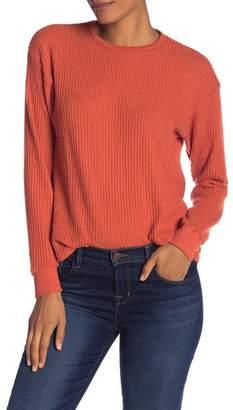 Project Social T Waffle Knit Thermal Shirt