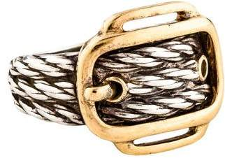 Hermes Two-Tone Buckle Ring