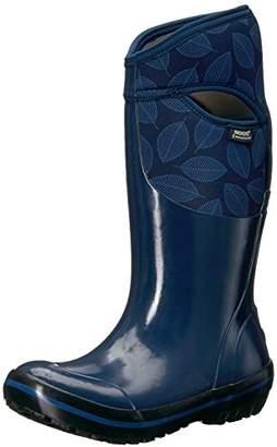 Bogs Women's Plimsoll Leafy Tall Snow Boot