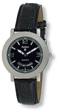 Avalon メンズシルバートーン父の日腕時計# 3192 – 2
