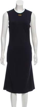 Versace Sleeveless Midi Dress