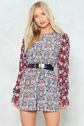 Nasty Gal Grow With It Floral Romper
