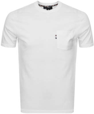 Aquascutum London Wilmslow T Shirt White