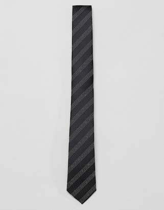 French Connection dot striped tie