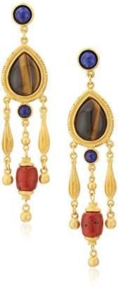 Ben-Amun Jewelry Silk Road Chandelier Drop Earrings