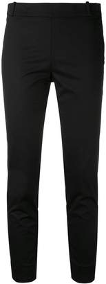 Kiltie cropped trousers