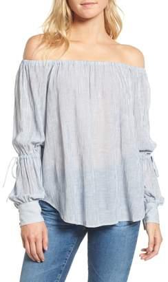 AG Jeans Tallulah Off the Shoulder Blouse
