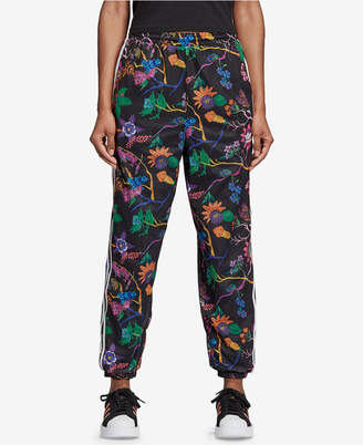 adidas Garden Print Reversible Track Pants
