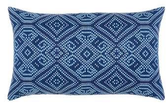 Midnight Tile Lumbar Pillow