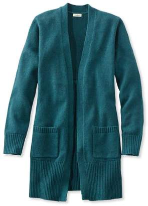 L.L. Bean L.L.Bean Donegal Sweaters, Long Open Cardigan