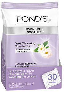 POND'S Wet Cleansing Towelettes, Evening Soothe
