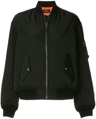G.V.G.V. lace-up MA1 bomber jacket