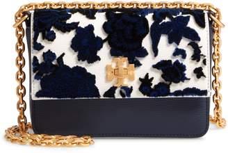Tory Burch Mini Kira Leather & Fil Coupe Bag