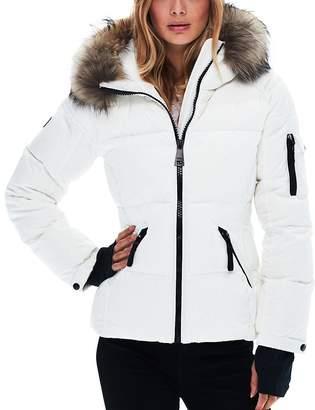 SAM. Blake Fur-Trim Matte Down Coat