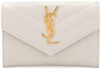 Saint Laurent monogram small envelope wallet