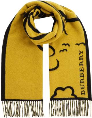 Burberry Street Art Scarf