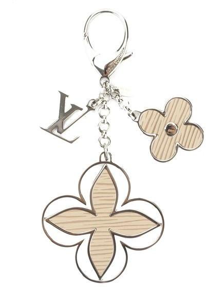 Louis VuittonLouis Vuitton Beige and Silver Limey Bag Charm (Pre Owned)