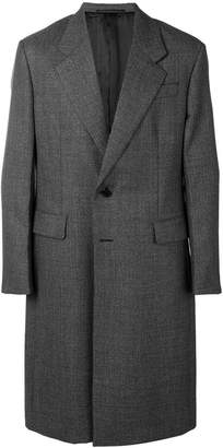 Prada single breasted wool coat