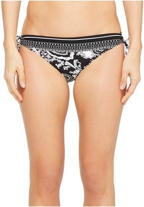La Blanca - Sevilla Scarf Loop Tie-Side Hipster Bottom Women's Swimwear $53 thestylecure.com