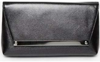 Dorothy Perkins Womens Black Metal Bar Clutch Bag 90c366ff6b