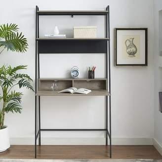 Union Rustic Pettit Metal and Wood Ladder Desk